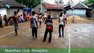 Eid Game 2017 Akarshan Club Nowpara - Kobaddi