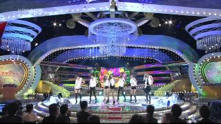26.12.2009 [KBS Entertainment Awards] Opening Hyomin (T-ARA) With Others