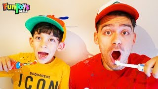 Morning Routine on Time Vs Too Late | Funny Kids Video
