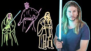 Why Death by Lightsaber Would Be Much Worse in Real Life! (Because Science w/ Kyle Hill)