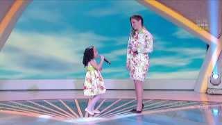MILENA e sua mãe ( con su madre / with mother ) ANA CRISTINA Eu e você 11 05 13 Raul Gil