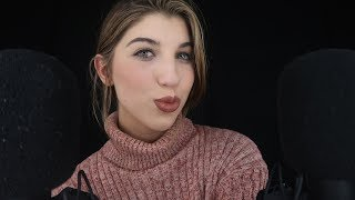ASMR New Year Kisses & Affirmations