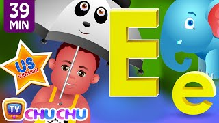 ChuChu TV Nursery Rhymes - US Voice Version Vol.3 | Rain Rain Go Away, ABC Phonics & More Kids Songs