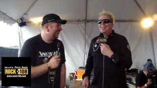 Ned-Rock 108 Interviews Dexter of The Offspring @ Northern Invasion 2017