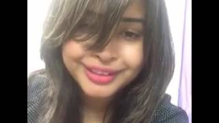 Kabir Tithi Bangladeshi Model and actress Funny ADDA with Live fans lol 2017