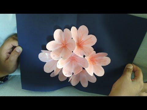 Xxx Mp4 Pop Up Flower Card Tutorial Handmade 3gp Sex