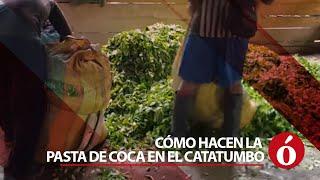 Así hacen los campesinos la pasta base de coca