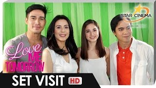 [FULL] 'Love Me Tomorrow' Set Visit | Piolo Pascual, Coleen Garcia, and Dawn Zulueta