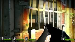 Left 4 Dead 2 Multiplayer Playthrough / Gameplay Part 1 Dead Center Ellis Full HD 1080