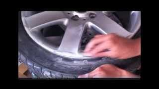 How to repair and paint alloy wheels at home with spray cans (BMW 44s) PART 1