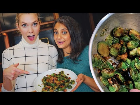 Xxx Mp4 Thanksgiving Maple Dijon Brussels Sprouts Klossy Learns To Cook 3gp Sex