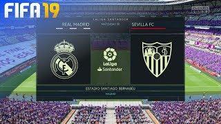 FIFA 19 - Real Madrid vs. Sevilla FC @ Estadio Santiago Bernabéu