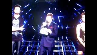X Factor Gary gets angry & walks off stage