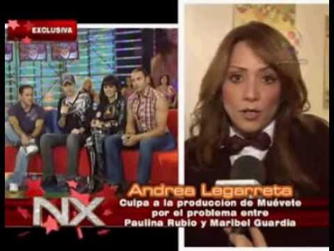 Andrea Legarreta Habla de la Pau y del embarazo de Galilea