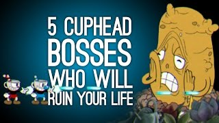 5 Cuphead Bosses Who Will Ruin Your Life - Cuphead Xbox One Gameplay
