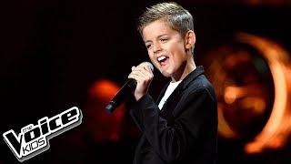 """Eryk Waszczuk – """"When a Man Loves a Woman"""" – Przesłuchania w ciemno – The Voice Kids Poland"""