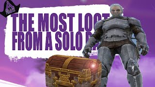 THE MOST LOOT FROM A SOLO RAID! (Official Pvp Pirates) - Ark:Survival Evolved - Ep.38