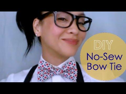 DIY No-Sew Bow Tie : {JEREMY} Bow Tie V.2 - PlayItHub Largest Videos Hub .