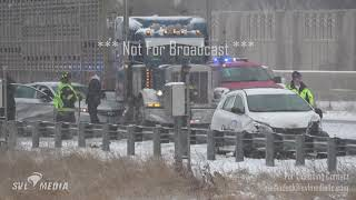 Moorhead, MN - Multiple Vehicle Pile-up Accident on I-94 - Nov. 30th, 2019