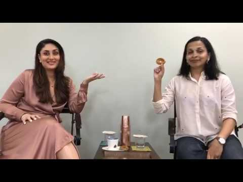 Kareena Kapoor Facebook Live Video with Rujuta Diwekar July 2017 #pregnancynotes