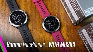 Garmin FORERUNNER 645 MUSIC Unboxing & First Impressions!