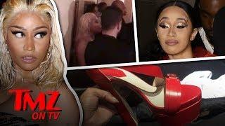 Cardi B Attacks Nicki Minaj! | TMZ TV