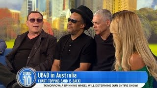 Ali, Astro and Mickey From UB40!