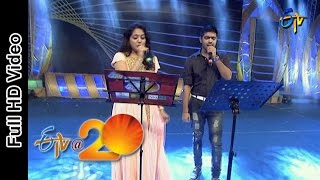 Revanth and Sunitha Performs - Jum Jum Maya Song in Vizag ETV @ 20 Celebrations