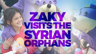 Zaky Visiting Syrian Orphans in Lebanon 2018