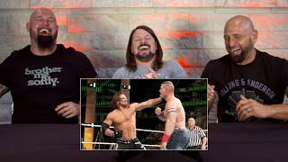The Club watch AJ Styles beat up John Cena: WWE Playback