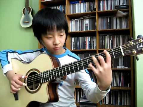 (The Eagles) Hotel California -  Sungha Jung (2009.2.16)