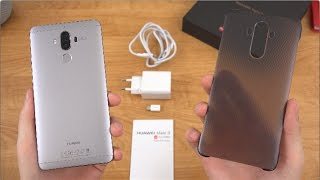 Huawei Mate 9 Unboxing and Impressions!