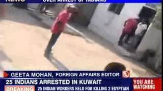 25 Indians arrested for murder in Kuwait