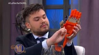 """Tiene 21 años y creó una prótesis de mano: """"Un brazo sale menos de $200"""""""