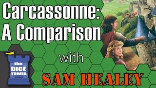 Carcassonne Comparison - with Sam Healey