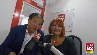 Andrea und Wilfried Peetz stellen bei radio B2 ihr Album mit Filmmelodien vor