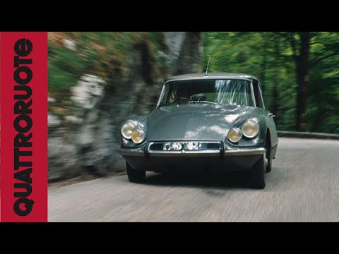Citroen DS 1964 Classic Test Drive