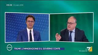 Su Salvini e i migranti Gualtieri (PD) dice a Ciocca (Lega): anche Hitler vinse le elezioni.