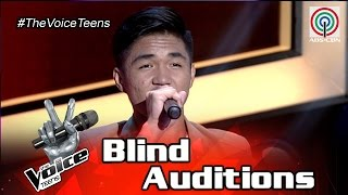 The Voice Teens Philippines Blind Audition: Julian Juangco - For Once In My Life