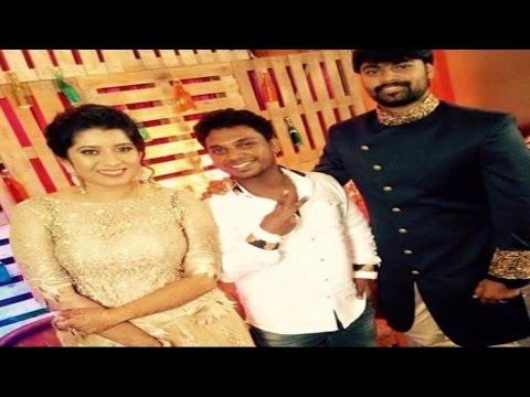 Vijay TV Anchor Priyanka Full Marriage Album