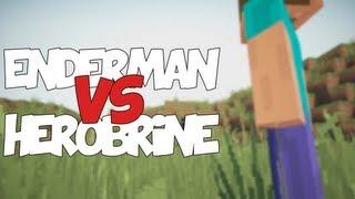 ENDERMAN VS HEROBRINE | Zarcort Ft. Deigamer