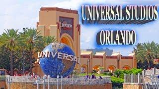 Universal Studios - City Walk, Islands of Adventure, Orlando 2016 HD