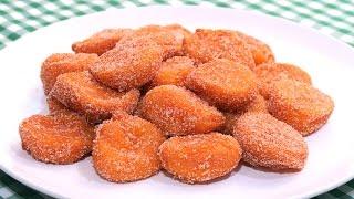 Buñuelos de Zanahoria | Receta muy Fácil explicada paso a paso