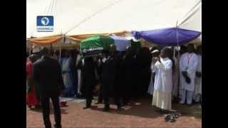 The burial of late Governor Of Kaduna State, Sir Patrick Yakowa