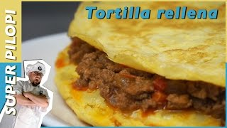 Tortilla de patatas boloñesa - Receta TURBO