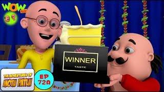 Cake Competition - Motu Patlu in Hindi WITH ENGLISH, SPANISH & FRENCH SUBTITLES