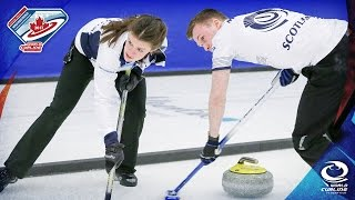 Scotland v Canada - Last 16 - World Mixed Doubles Curling Championship 2017
