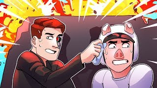 Black Ops 2 Sweaty Ten Minutes w/ Wildcat, Basically and Moo! (Black Ops 2 Funny Moments)