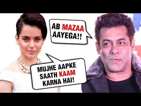 Xxx Mp4 Kangana Ranaut DESPERATE To Work With Salman Khan 3gp Sex