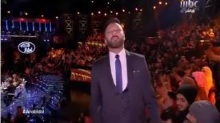 كاظم الساهر عرب ايدول arab Idol  اغنية تناقضات (مابين حب وحب)